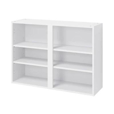 structure 16 cases blanche h 138cm