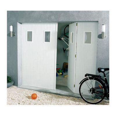 Porte De Garage Enroulable Aluminium Kiev 1 Blanc L 240 X H 200 Cm En Kit Castorama