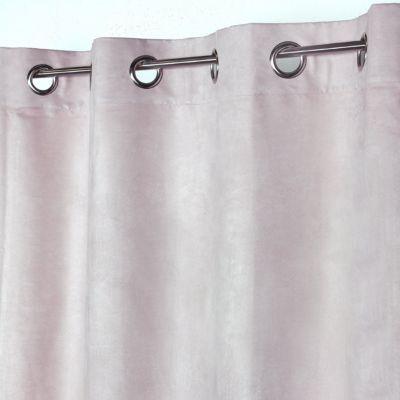 set rideau gris 200x200 cm tringle