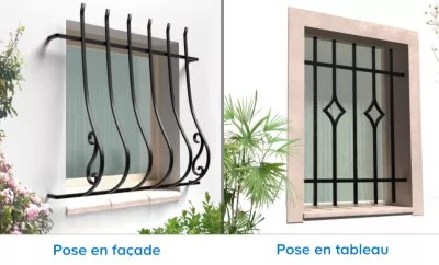 Securite Domotique Fenetre De Grilles De Securite Bars Bricolage Doctoori Net
