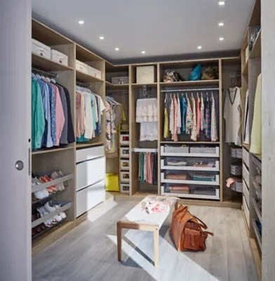 idees conseils comment amenager un dressing