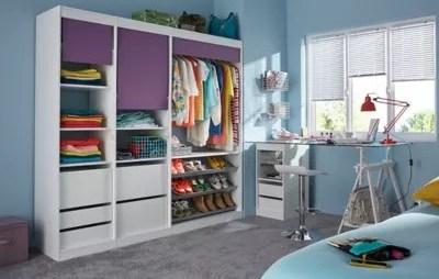 armoire castorama dressing bright