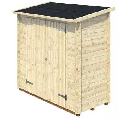 armoire de rangement bois blooma senette 1 34 m ep 19 mm