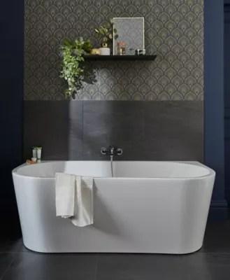 baignoire ilot allibert eterna 170 x 75 cm