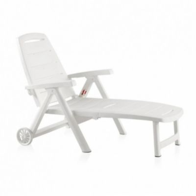 bain de soleil antibes plastique blanc