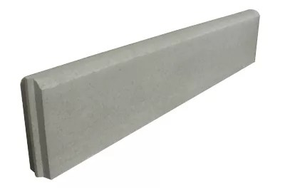 bordure en beton p4 100cm grise