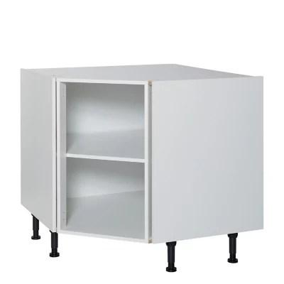 caisson bas angle pan coupe blanc cooke lewis 95 x 95 cm
