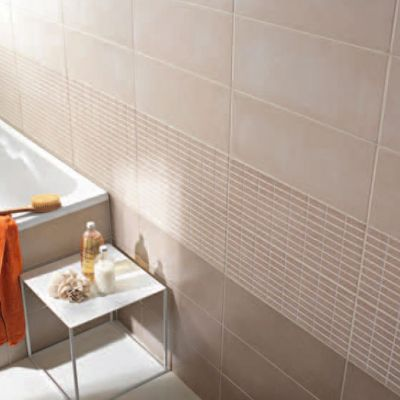 carrelage mur beige 20 x 50 cm trendino