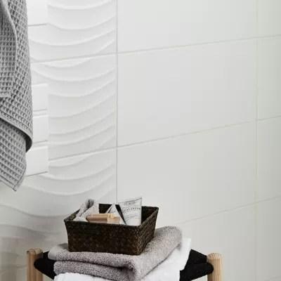 Carrelage Mur Blanc 25 X 50 Cm Brindisie Castorama