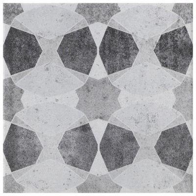 carrelage sol et mur blanc et noir 20 x 20 cm decor cementine vendu au carton