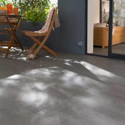 carrelage sol exterieur gris 45 x 90 cm colours oikos