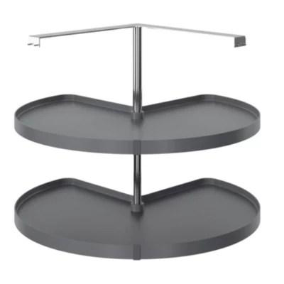 carrousel d angle 3 4 pour meuble de cuisine goodhome pebre 93 cm