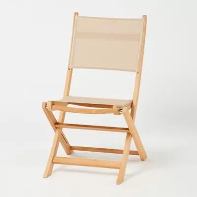 chaise de jardin en bois blooma molara pliante lot de 2