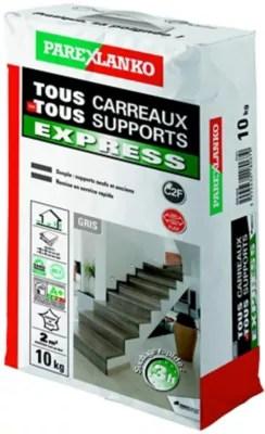 Colle Tous Carreaux Tous Supports Express Parexlanko 10 Kg Castorama