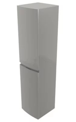 colonne de salle de bains cooke lewis gris clair vague 40 cm