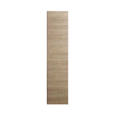 colonne de salle de bains decor chene naturel montee cooke lewis calao 35 cm