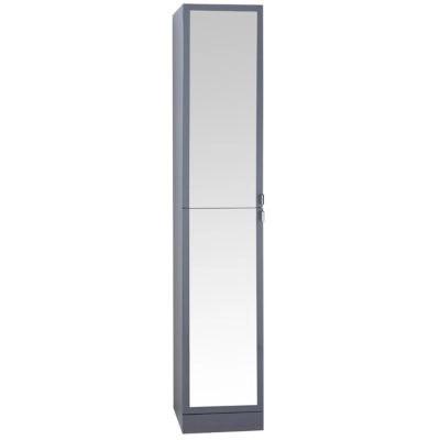 colonne de salle de bains gris cooke lewis atrato 35 cm