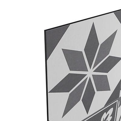 credence de cuisine goodhome nepeta carreaux de ciment gris l 180 cm x h 60 cm x ep 3 mm