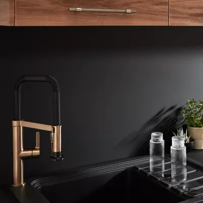 credence de cuisine noir mat et blanc mat goodhome berberis l 200 cm x h 60 cm x ep 3 mm