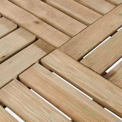 Dalle De Terrasse Pin Vert Brantas Blooma 50 X 50 Cm Castorama