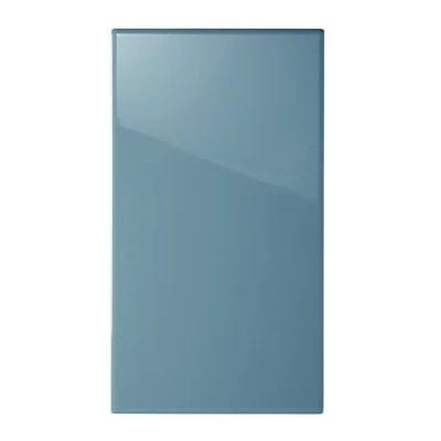 Facade De Cuisine 1 Porte Bleu Sixties L 40 Cm Castorama