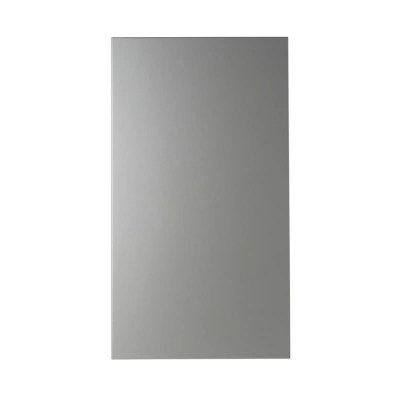 facade de cuisine 1 porte inox ice 40 cm