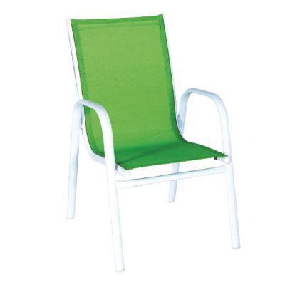 fauteuil enfant en metal janeiro kids vert
