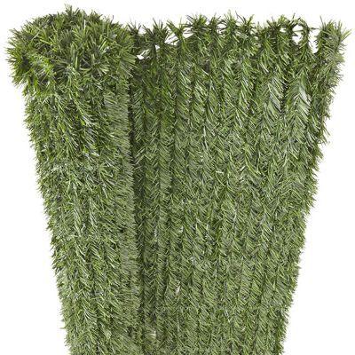 haie artificielle pvc blooma 36 brins 3 x h 2 m