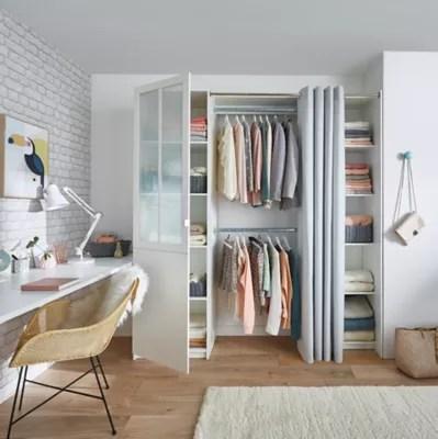 Kit Dressing Atelier Coloris Blanc H 218 Cm X L 200 Cm X P 50 Cm Castorama