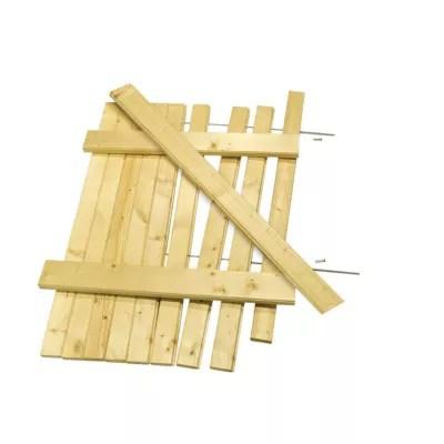 kit volet battant en bois 57 5 x h 205 cm