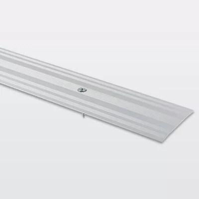 large barre de seuil en aluminium decor metal mat goodhome 60 x 930 mm