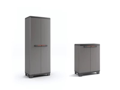 lot armoires haute basse resine