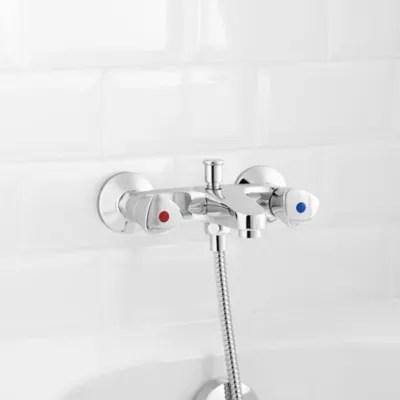 melangeur de baignoire chrome grenvik