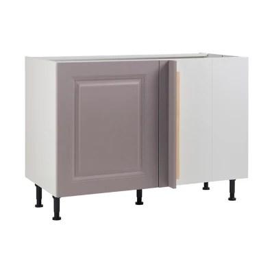 meuble de cuisine candide lila d angle facade 1 porte kit fileur caisson bas l 60 cm