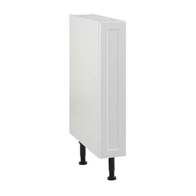 meuble de cuisine fog blanc facade 1 porte caisson bas l 15 cm