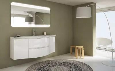 meuble sous vasque cooke lewis blanc vague 138 cm complement gauche et droit plan vasque en resine
