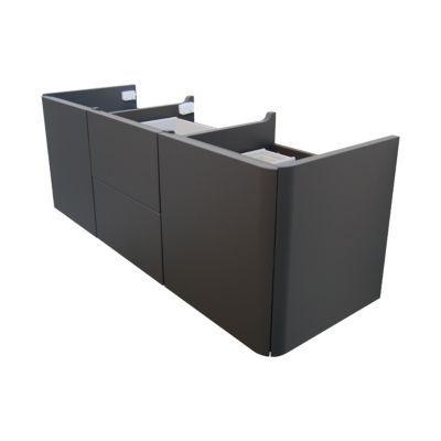 meuble sous vasque poivre cooke lewis ceylan 140 cm