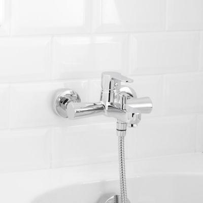 mitigeur de baignoire a manette unique goodhome lecci