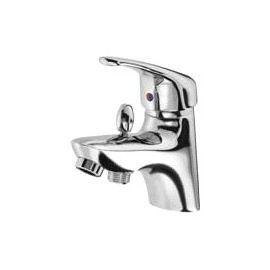 mitigeur de bain douche chrome form varna