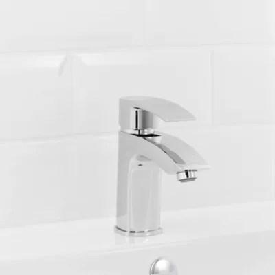 mitigeur de lavabo chrome goodhome hopa