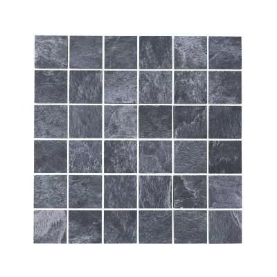 mosaique sol et mur anthracite 30 x 30 cm shaded