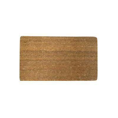 paillasson coco ecru 33 x 55 cm