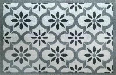 paillasson interieur amalia gris 50 x 75 cm