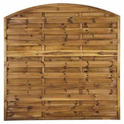 panneau bois arc blooma oussouri 180 x h 180 cm