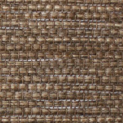panneau japonais paille tisse chocolat 60 x 300 cm