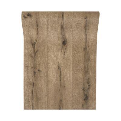 papier peint vinyle sur intisse bois gris
