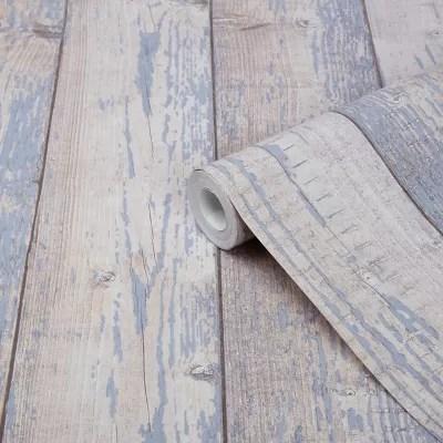 Papier Peint Vinyle Sur Intisse Bucy Goodhome Bleu Clair Castorama