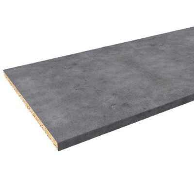 plan de travail aspect beton hydrofuge 280 x 62 cm ep 28 mm vendu a la piece
