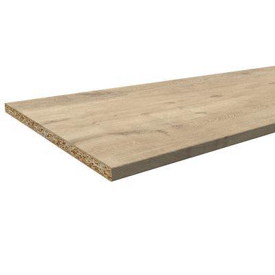 plan de travail aspect bois decor chene 180 x 60 cm ep 28 mm vendu a la piece