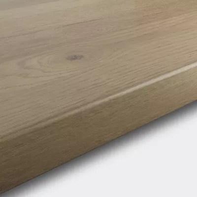 plan de travail en stratifie aspect bois rustique goodhome kabsa 300 cm x 62 cm x ep 3 8 cm